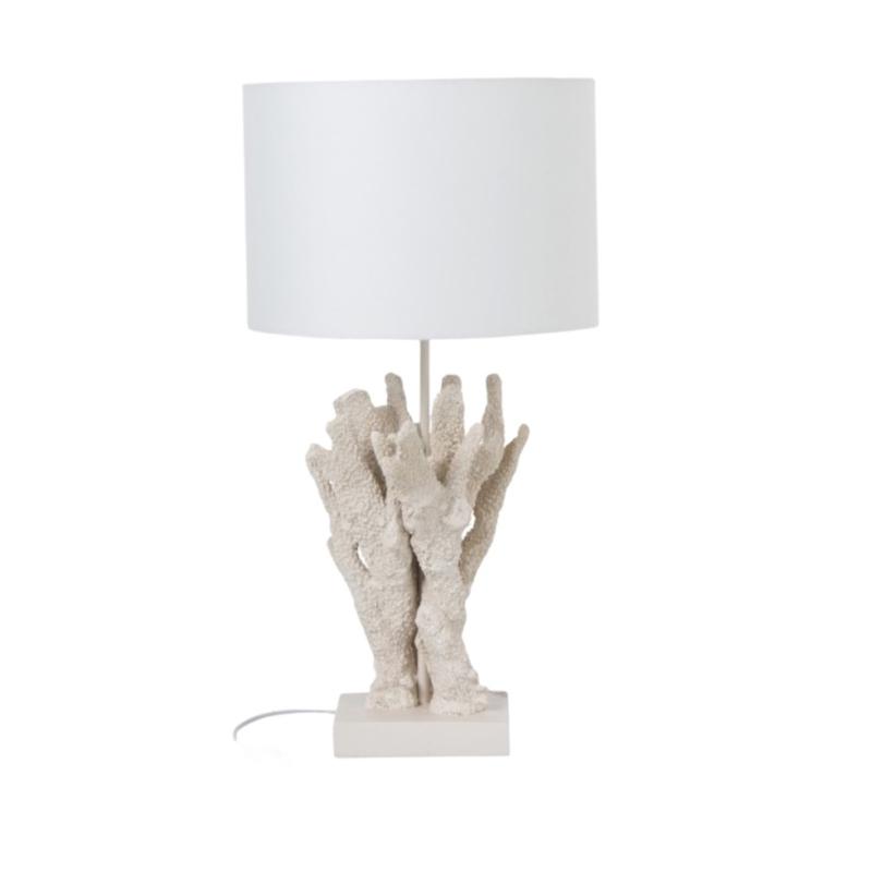 Lámpara sobremesa coral